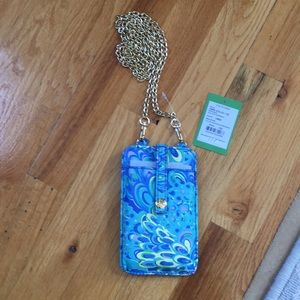 Lilly Pulitzer phone case bag